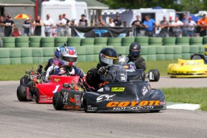 Ben Wagenhals was a top runner in WKA Gold Cup LO206 racing all season (Double Vision Photography)