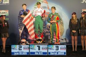Luke Selliken second in Senior Max (Photo: Rotax-Kart.com)