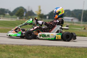 Merlin driver Kyle Kalish has a shot at the championship podium in his first year in S2 (Photo: EKN)