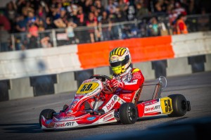 No one has yet to stop Jordon Lennox in the KZ2 category (Photo: On Track Promotions - otp.ca)