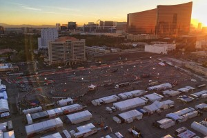 The Las Vegas Convention Center lot gives plenty of room to develop and grow for future SuperNationals (Photo: Superkarts! USA)