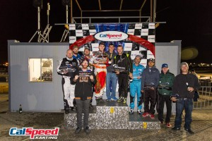 Mach 5 Motorsports taking the top position on the podium