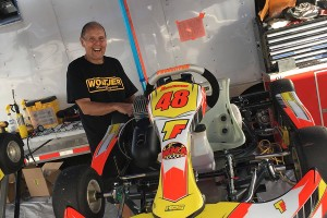 In the realm of karting 'legends', Mike Birdsell is among the elite with a 40+ years behind the wheel