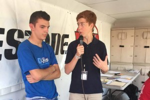 WKA Race Announcer Xander Clements brought his skills on the mic to this year's Kartweek