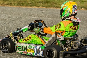 Alex Bertagnoli posted four top-three finishes in Daytona, including a Wednesday win in Pro IAME Junior (Photo: Focal Perspective Media)