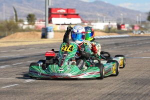 Nick Brueckner took every checkered flag in Junior Max in Tucson (Photo: SeanBuur.com)
