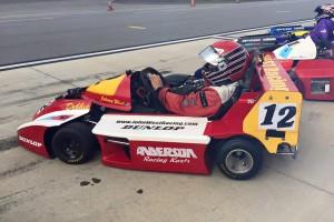 Johnny West 250cc Superkart