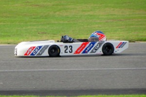 USPKS event director Rick Fulks in his 100cc Controlled machine (Photo: Lindsey Read)
