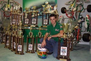 Joel became one of the few Americans to be added as a factory Tony Kart driver