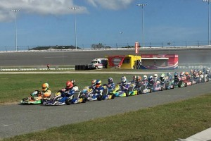 A stacked field of 47 Pro IAME Senior drivers made things every exciting all week in Daytona (Photo: Alycia Hodapp - EKN)