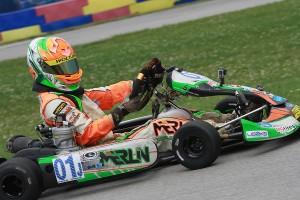 TaG Junior champion Brandon Lemke (Photo: eKartingNews.com)