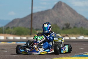 S5 Junior Stock Moto champion Callum Smith (Photo: eKartingNews.com)