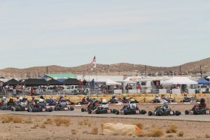Fields are expected to fill up throughout the season for the California ProKart Challenge with six different tracks for the six-round series (Photo: dromophotos.com)