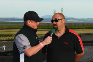 Seesemann during an EKN Live interview at Sonoma in 2015 (Photo: SeanBuur.com)