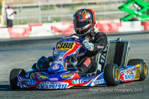 A host of Energy Kart USA drivers will hit the track this weekend in Phoenix (Photo: Roger Seymour Photography)