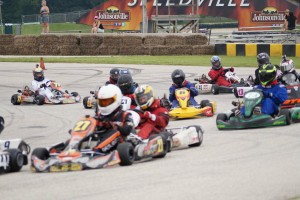 The Briggs 206 program is bringing together old and new drivers along with old and new karts (Photo: 206cup.com)