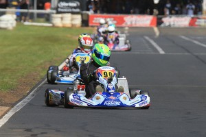 Reece Sidebottom was undefeated in KA1 (Pic: Coopers Photography)