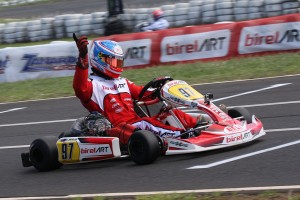 BirelART driver Chris Hays was victorious in the KZ2 class (Pic: Coopers Photography)