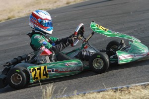 Nick Brueckner looks to continue streak in Junior Max (Photo: EKN)