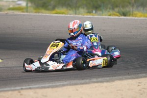 Mike Jones maintained the championship lead with a second victory on the weekend (Photo: EKN)