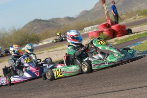 Nick Brueckner landed his fourth straight win in Junior Max (Photo: EKN)