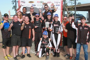 Three victories on the day for Dallas Karting Complex and Sodi Kart (Photo: EKN)
