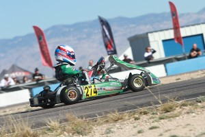 All drivers are chasing Nick Brueckner in the Junior Max division (Photo: EKN)