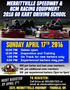 2016 Kart Driving School 2016