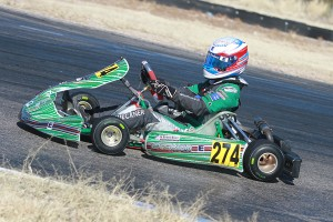 Nick Bruecker has swept all four rounds in Junior Max heading into Sonoma (Photo: EKN)