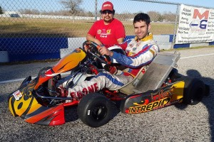 Garrett Boone returns to the national karting scene with support from Champion Racing and 3G Kart Racing