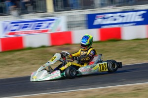 Anthony Gangi Jr. continued his European campaign with a 14th place result at the 21st Winter Cup