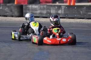 Logan Ainsworth was on top of the results sheet in Honda Kid Kart throughout Round Two (Photo: Kart Racer Media)