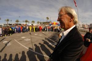 Murley was honored as the Grand Marshall for the 2009 SKUSA SuperNationals (Photo: On Track Promotions - otp.ca)