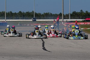 The Junior field was one of the most intense classes to watch throughout the weekend