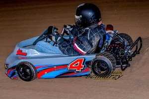 Jason Morheiser, shown here on his way to the F200 win, also won in the SR 4 Cycle Class (Photo: Schnarzy)