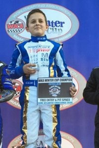 Winter Cup champion Jason Welage is the driver to beat in Pro IAME Sportsman (Photo: TopKart USA)