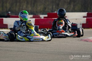 Luis Zervigon (#488) and Everett Thomas (#480) claimed a win each in Rotax DD2 Max (Photo: Zayas Images)