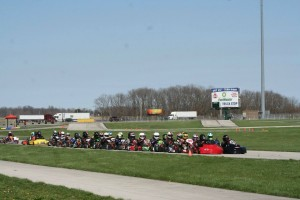 New Castle Motorsports Park hosted nearly 300 entries at their club race (Photo: Abby Willis)