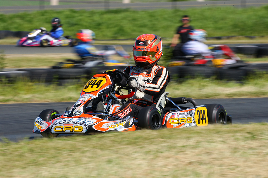A third victory for Christian Brooks has all but wrapped up the Senior Max championship (Photo: SeanBuur.com)