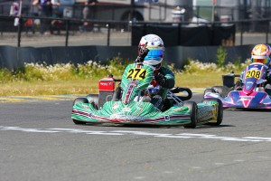 Nick Brueckner locked up the championship with a fifth straight victory (Photo: EKN)