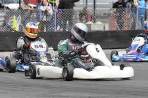 Diego Pelosi emerged as the top driver in the TaG Master division for his first win of the season (Photo: Kart Racer Media)