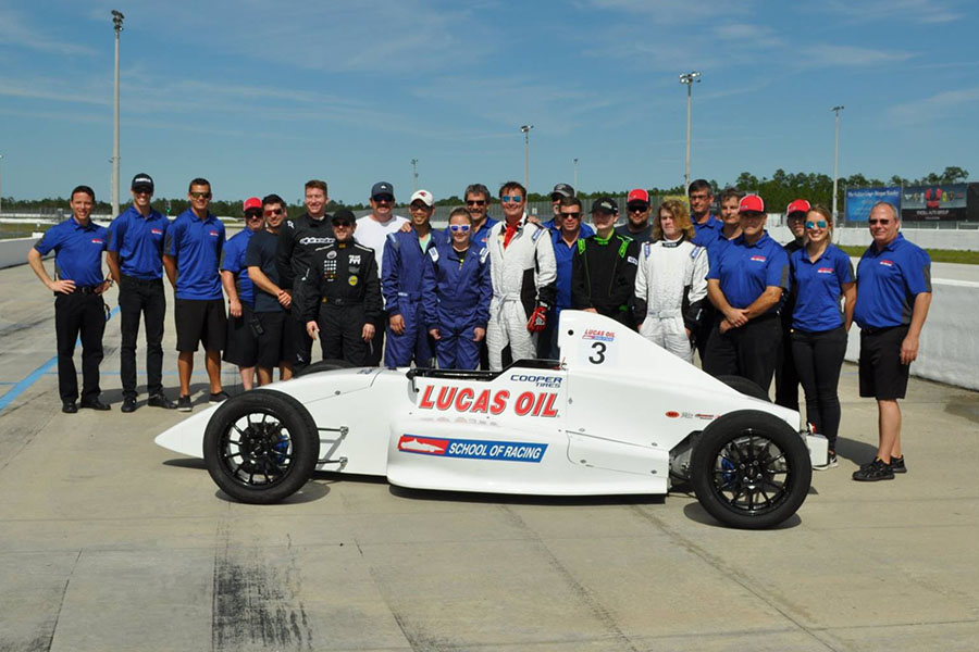 Lucas Oil School of Racing-PBIR