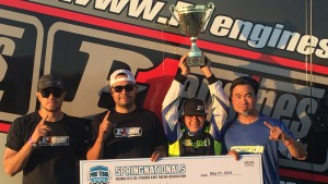 P1 Engines celebrates another SKUSA Pro Tour victory in X30 Junior with Dante Yu   (Photo: Dante Yu Racing)
