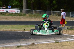 Walker Hess will switch to Team Koene USA colors at the US Open of Utah as he competes in Rotax Senior (Photo: Sydney Hess)
