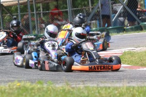 Close racing in TaG Cadet Restricted (Photo: Double Vision)