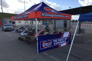 The 206 Lounge by Full Throttle Karting was debut at the recent Tri-C Karters event