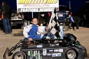 First time 2016 Kart Winner Logan Illiffe - Photo by Chad Illiffe