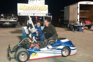 Jaedon Lawson in Victory Lane May 10th - Photo by Taylor Lawson