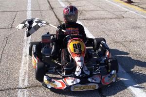 Junior Rotax Winner # 99 Curtis Veselinovich