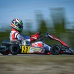 Karting, CAMPLESE LORENZO, KZ, ITA, PAROLIN / TM RACING / VEGA, PAROLIN RACING KART, CIK / FIA - European Championship, Zuera, Spain, International Race, © KSP Reportages